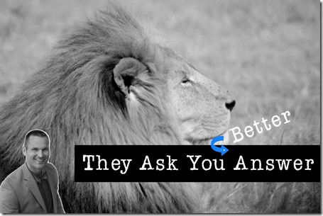 They Ask You Answer is the Marcus Sheridan FAQ approach to growing your business