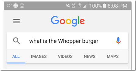 Trolls salivated so much at the Burger King Ad that Google shut it down: OK Google what is the Whopper burger