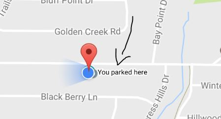 Dude where's my car? Google has the answer to find your parked car
