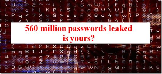 Badoo password leak