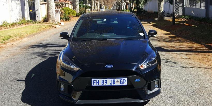 Three buttons unleash the true power of the Ford Focus RS -