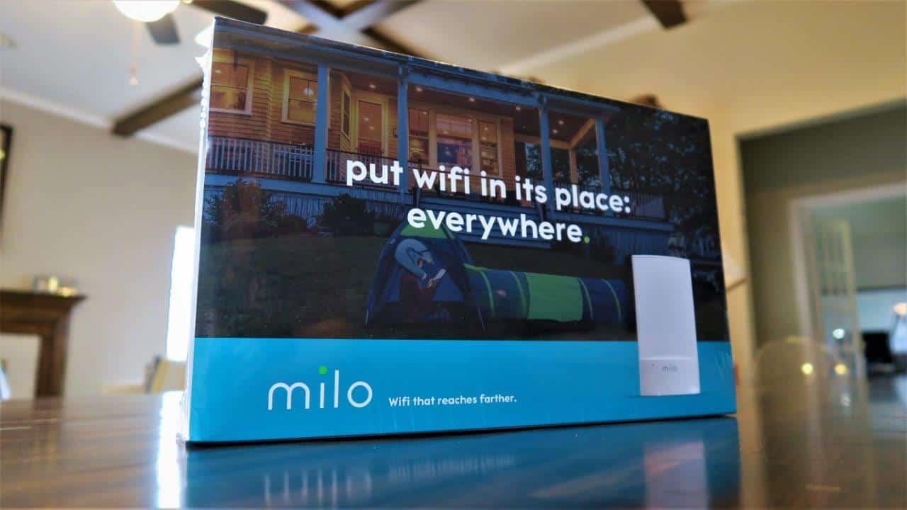 No more WiFi dead zones with Milo