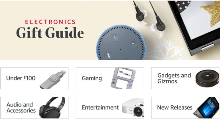 Your Last-Minute Christmas Tech Gift Guide Ideas – Amazon to the rescue!