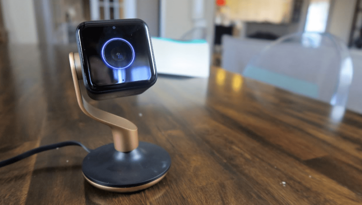 Lights, Camera and don't miss the action with this indoor security camera from Hive