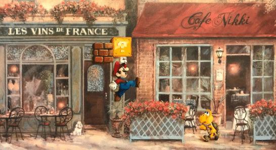 Dave Pollot Mario Art