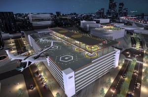 uber air skyports concept