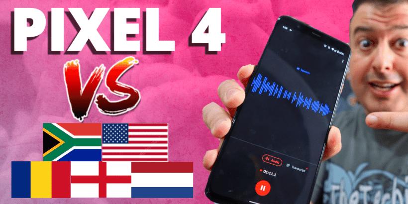 pixel 4 live transcription