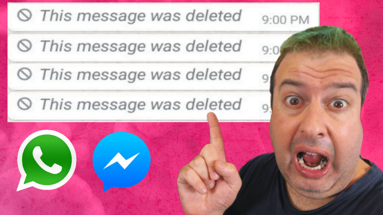 How to read DELETED WhatsApp and Facebook Messenger messages