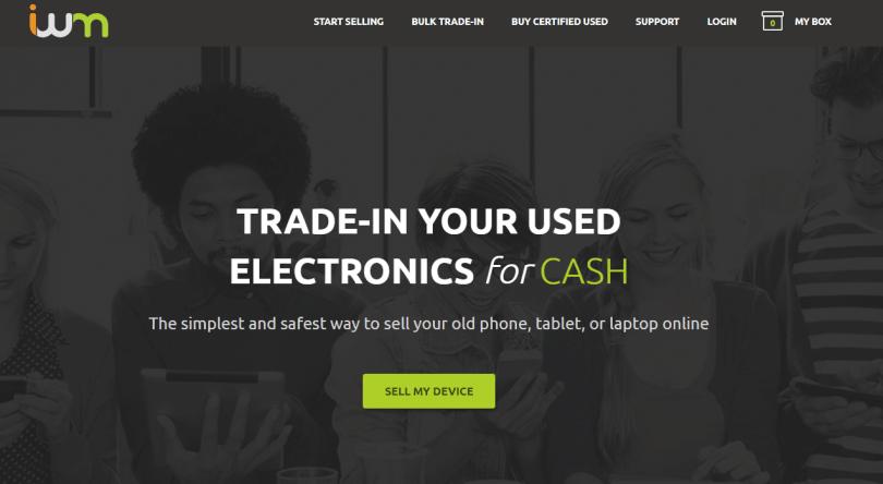 sell tech online - iwm