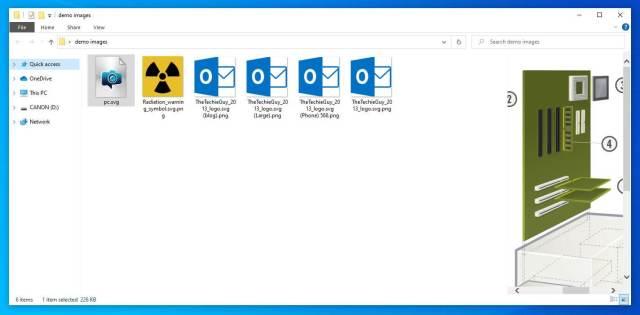 File Preview powertoys - thetechieguy