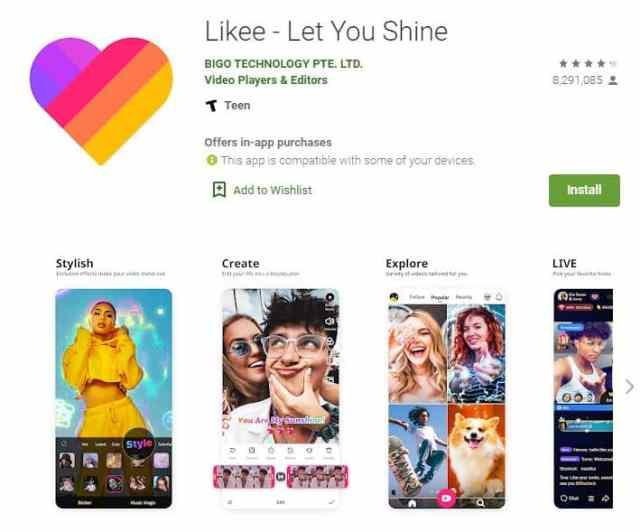 likee app - TheTechieGuy