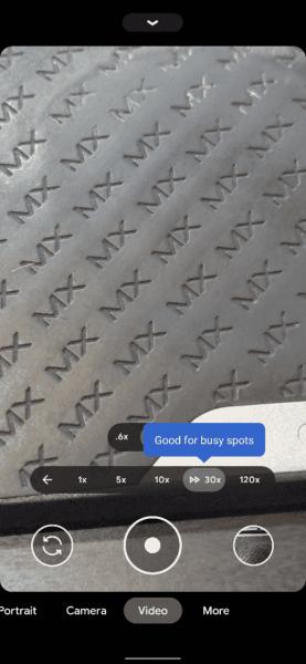 Pixel 5 tooltips