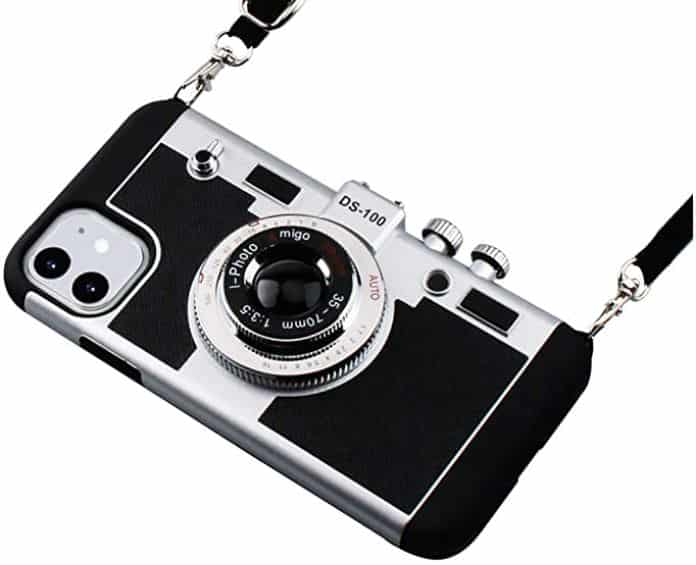 Where to buy Emily in Paris' vintage camera iPhone Case