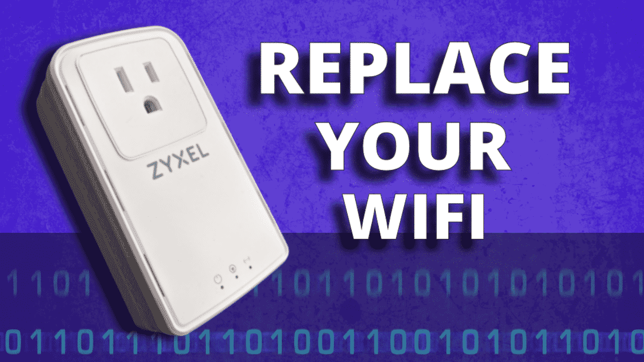 Forget WiFi – get the Zyxel Powerline adaptor for faster internet speed