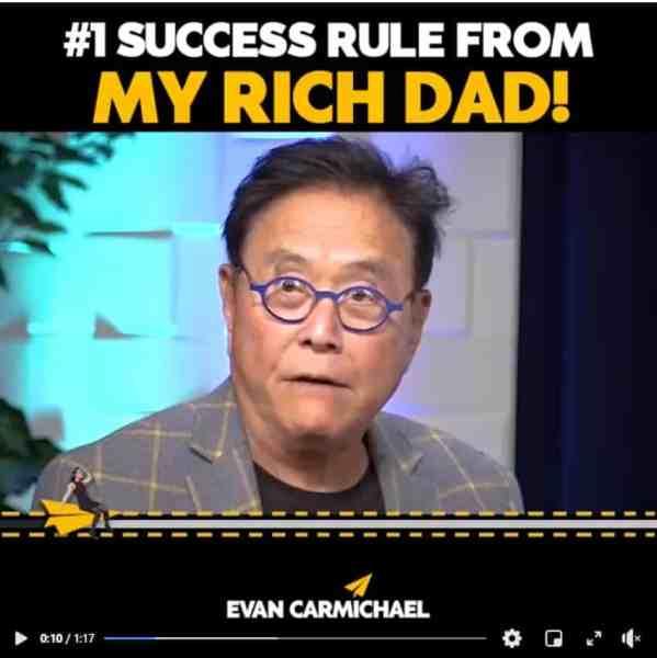 short video text frame - Evan Carmichael thetechieguy