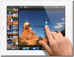 New iPad - iPhoto