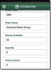 Share Trading App