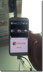 Galaxy Note II - split screen in portrait mode