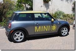 BMW Mini E electric car