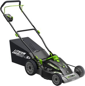 Earthwise 60418 18-Inch 40-Volt Lithium Ion Cordless Electric Lawn Mower