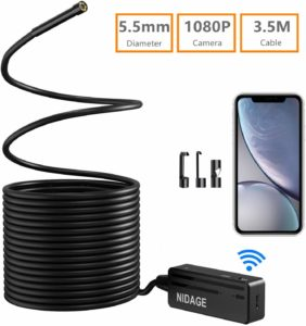 NIDAGE Wireless Endoscope