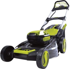 Sun Joe iON100V-21LM-CT Cordless Self Propelled Lawn Mower