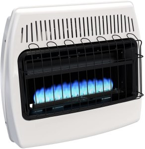 Dyna-Glo Natural Gas Blue Flame Vent Free Wall Heater