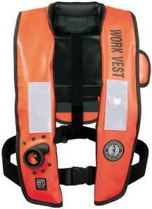 Mustang Survival Corp Inflatable Life Vest with HIT