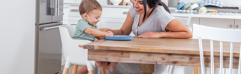 WeeSprout Wooden High Chair for Babies