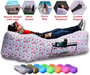CAMPERS LAIR [Military Grade] Inflatable Air Lounger