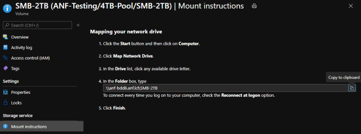 SMB Mounting Instructions