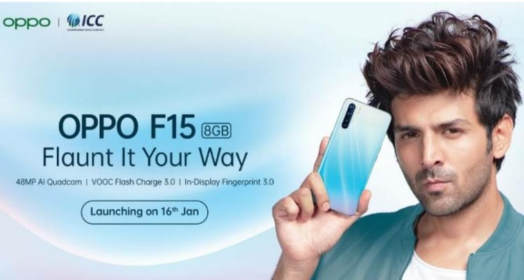 Oppo F15 launch 16 January FEATURE AND SPECIFICATIONS 1