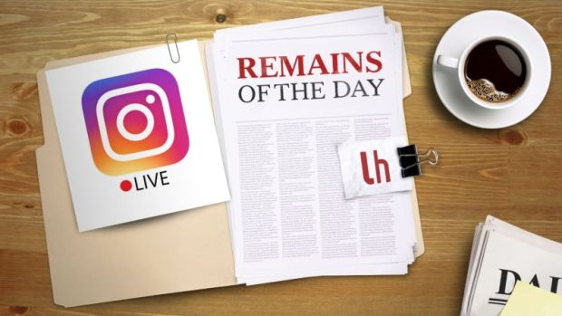 Instagram-live streaming