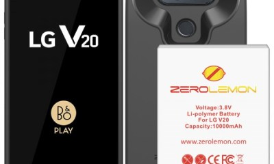 zerolemon lg v20 smartphone battery case