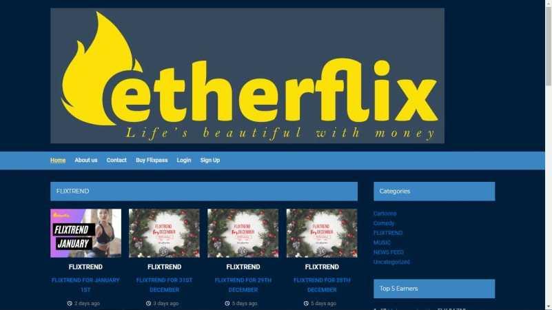 etherflix