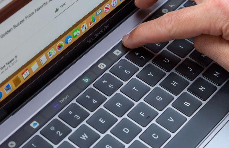 MacBook Pro Touch Bar could move to the spacebar — and we're confused