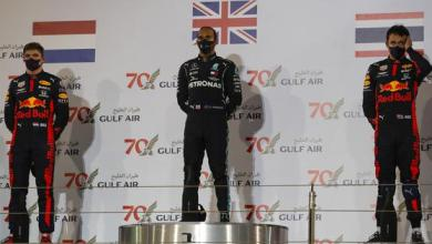 Photo of Hamilton wins, Red Bull grab double podium in race overshadowed by Grosjean accident