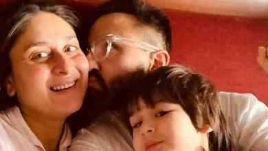 Kareena Kapoor bids farewell to 2020 by 'snuggling' with Saif and Taimur. See the pictures she forced them to pose for – bollywood