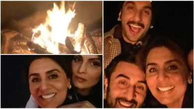Ranveer Singh, Ranbir Kapoor pose with Neetu Kapoor in new selfie from Jaipur and we are missing Alia Bhatt, Deepika Padukone – bollywood