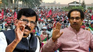 Why didn't Uddhav Thackeray join the farmers' movement?  Explanation given by Sanjay Raut