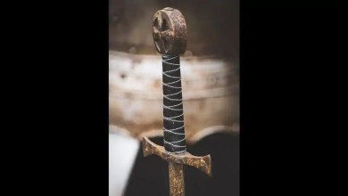 40 years later remorseful man returns sword stolen from statue in US – it s viral