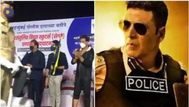 Akshay Kumar takes part in Mumbai Police function, says 'happy to see the modernization of our police force', watch – bollywood