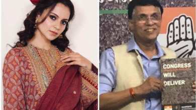 Kangana Ranaut claps back at Congress leader Pawan Khera as he mocks her tweet, warns those who laughed at her are 'still crying' – bollywood