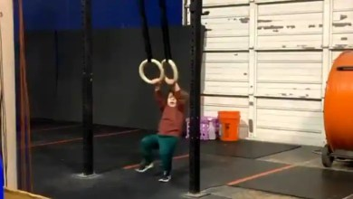 Kid makes up his own workout routine, proud dad shares adorably funny video – it s viral