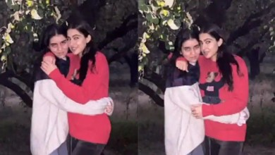 Sara Ali Khan goes on jungle safari with a friend, shares video of a peacock – bollywood