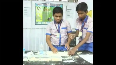 School kids from Hyderabad create rice flour chalks to replace gypsum ones – it s viral