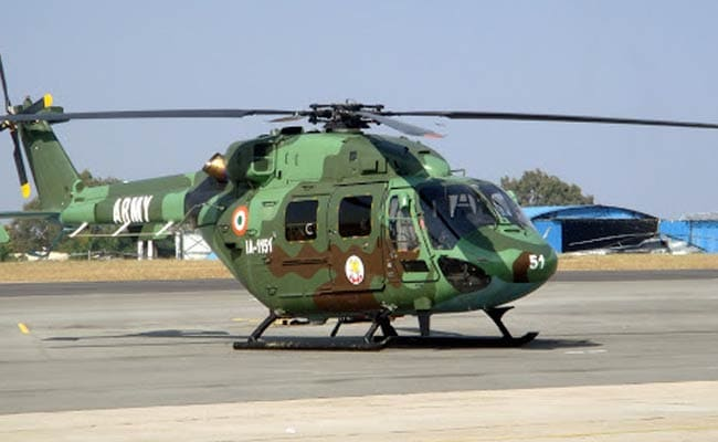 Pilot Dead, Another Injured After Army Helicopter Crash-Lands In J&K