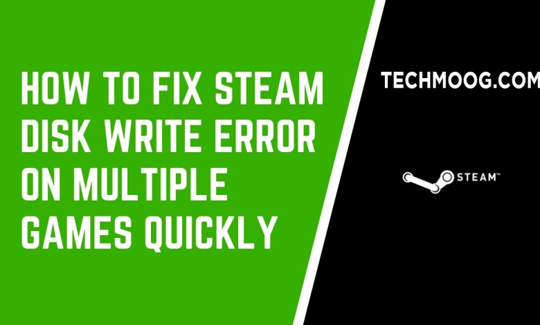 How to Fix Steam Disk Write Error on Multiple Games Quickly [Partition Manager]