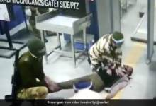On Camera, Man Collapses On Delhi Metro. What A Cop Does Next