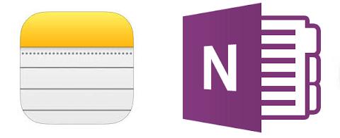 Microsoft OneNote vs Apple Notes